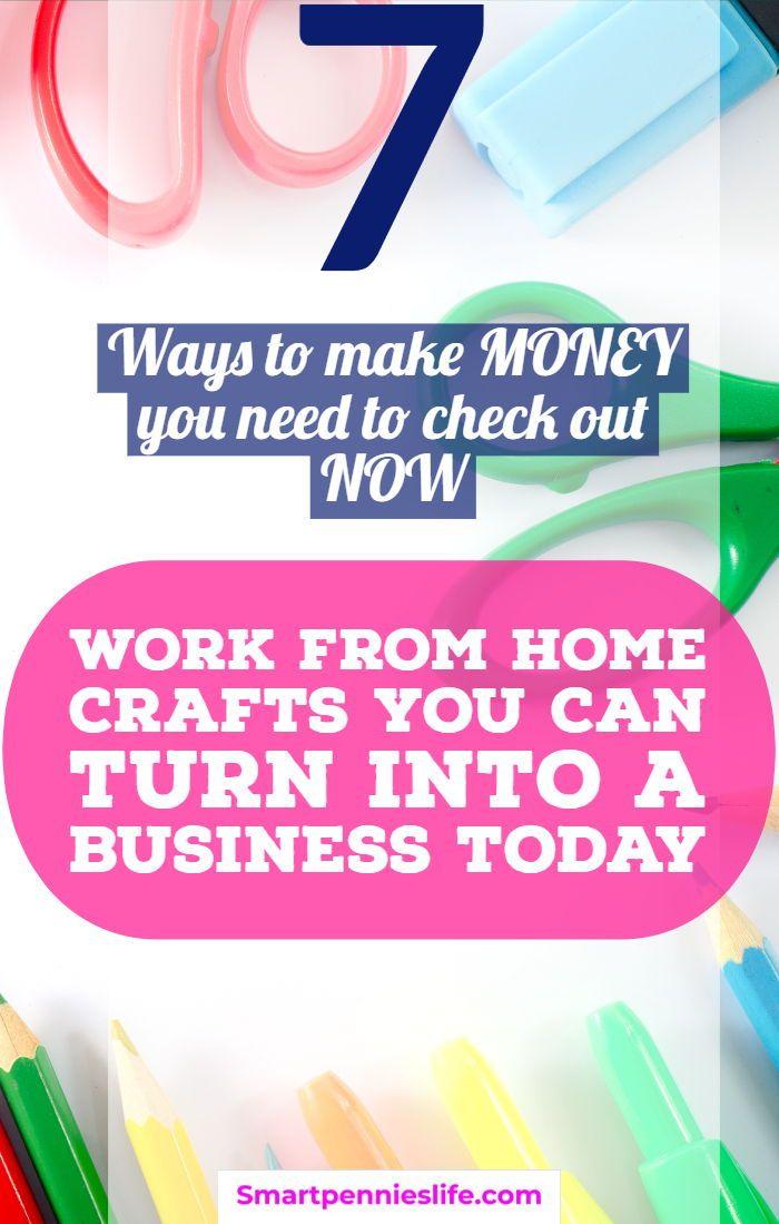 7 Handwerks-Geschäftsideen für Möglichkeiten, heute Geld zu verdienen. Wenn Sie Geld verdienen wollen, f …   – DIY and crafts making money