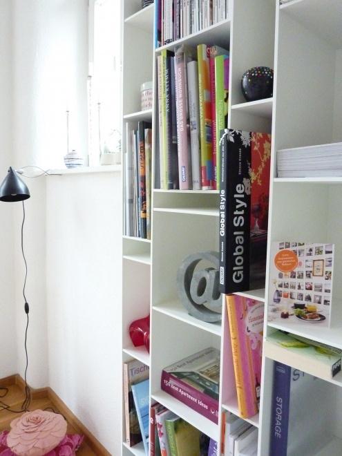 MDF Italia white shelf