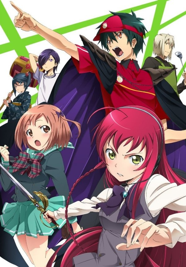 'The Devil Is A Part-Timer' - Easily one of the funniest, most original anime's I've ever seen!