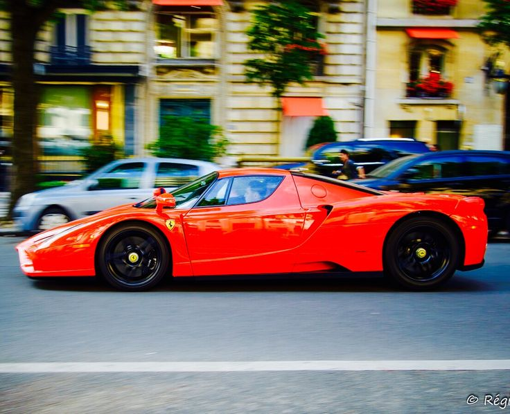Ferrari Enzo Ferrari,never See That Coming Down The Road