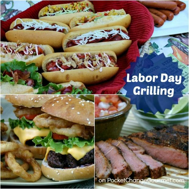 Labor Day Cook-out Recipes :: Grilling, Potluck, Salads, Sides, Drinks and Dessert :: on HoosierHomemade.com