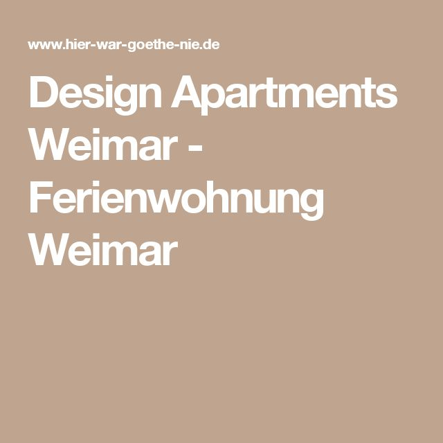 Ponad 25 najlepszych pomysłów na temat Wohnung weimar tylko na - design klassiker ferienwohnungen weimar