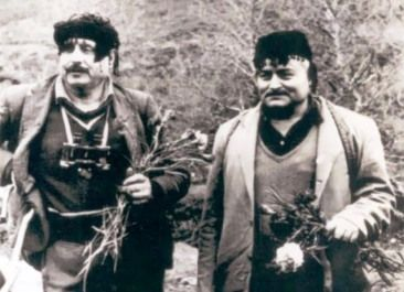 tsompanakis-blazakis-kriti-21 The last two resistance fighters in Krete. The civil war, for these two heros ended in 1976. They spend a lifetime in hiding, in the Krete mountains, after the end of the Greek Civil War in 1949...