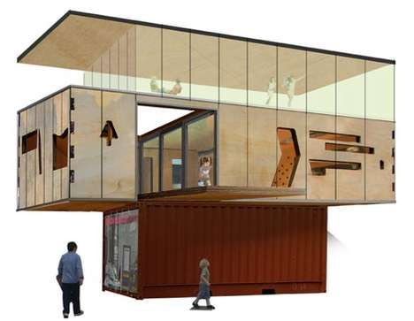 DRMM's DIY Eco-Friendly Naked House Built On A Container
