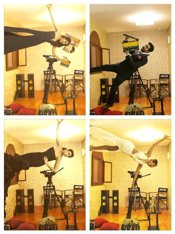 IIFA 2015 Throwback: Check out Shraddha, Parineeti, Riteish at the anti-gravity photobooth