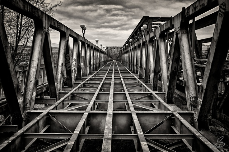 Bratislava: Old Bridge by Simon Karger, via 500px