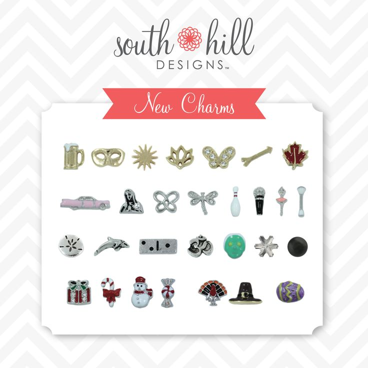 A small selection of charms. See my website for hundreds more! http://www.southhilldesigns.com/faithncharms