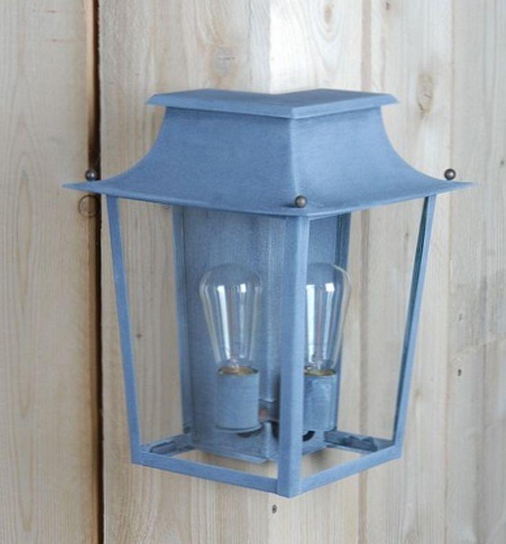 Außenlampe zur Eckmontage: Dreiviertel-Laterne Passy GM von Atelier Lumin'Art