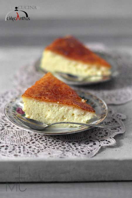 Tarta de Queso Convent ~ Italian Cheesecake