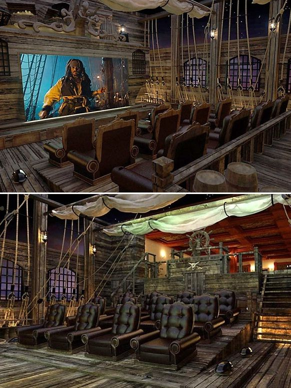 pirate home theater