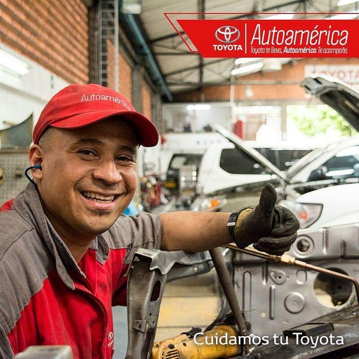 Nuestro equipo de mecánicos especializados se encargará de mantener tu #Toyota en óptimas condiciones. Te esperamos para ofrecerte nuestro servicio de mantenimiento preventivo en #AutoaméricaPalacé y #AutoaméricaIndustriales https://goo.gl/7CQwkr