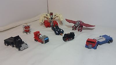 1980's VINTAGE GO-BOTS Loco, Block Head, Road Ranger and Misc. Robot toys LOT