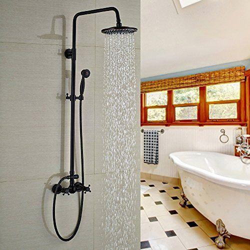 "Votamuta Wall Mounted Bathroom Shower Faucet Set 8"" Rain ... https://www.amazon.ca/dp/B01M18VOAA/ref=cm_sw_r_pi_dp_x_OOddAbMFAZ8T8"