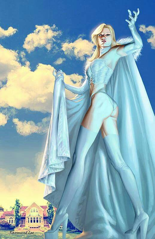 The White Queen Emma Frost by Raymund Lee