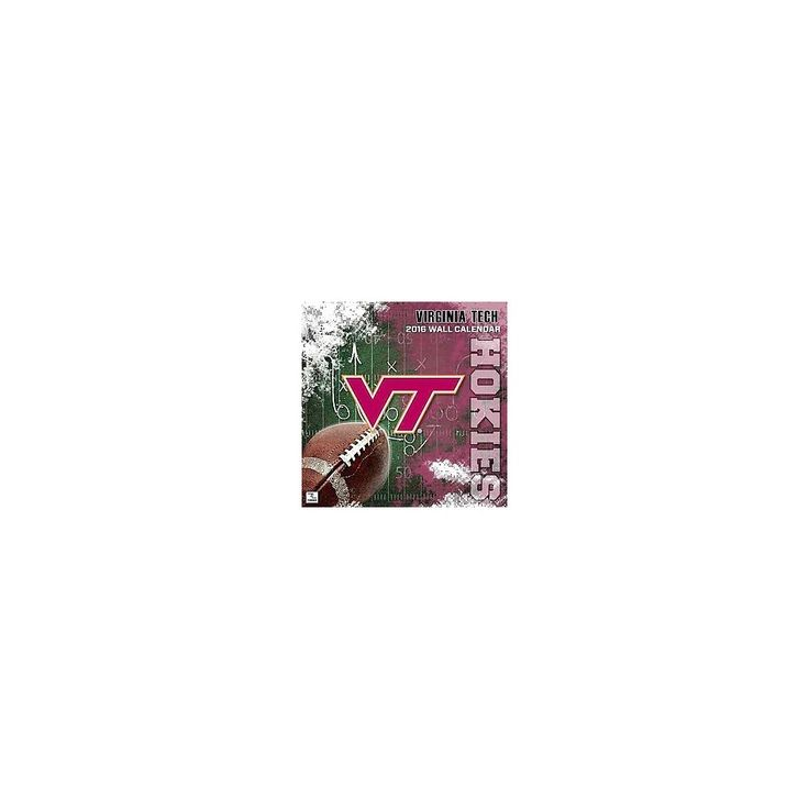 Virginia Tech Hokies 2016 Calendar (Paperback)