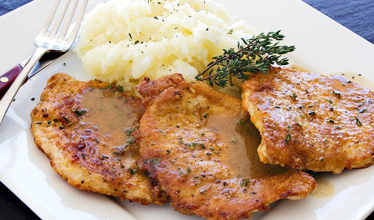 Home Style Pork Chops with Pan Sauce | Trader Joe