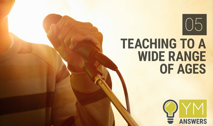 """05   Teaching To A Wide Range Of Ages In Your Youth Ministry - In this episode of Youth Ministry Answers, Kenny and Elle answer the question """"How Do You Teach To A Wide Range Of Ages In Your Youth Ministry?"""""""