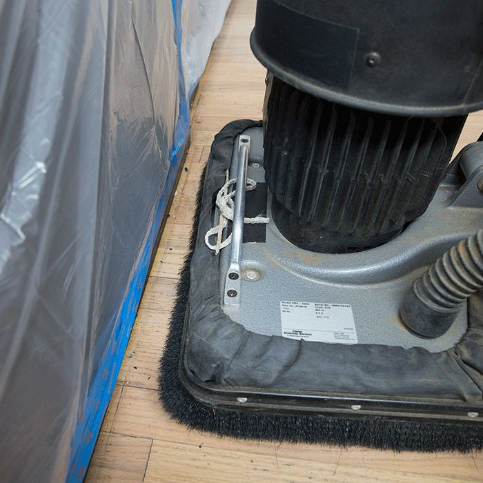 Lowes - how to sand/refinish hardwood floors