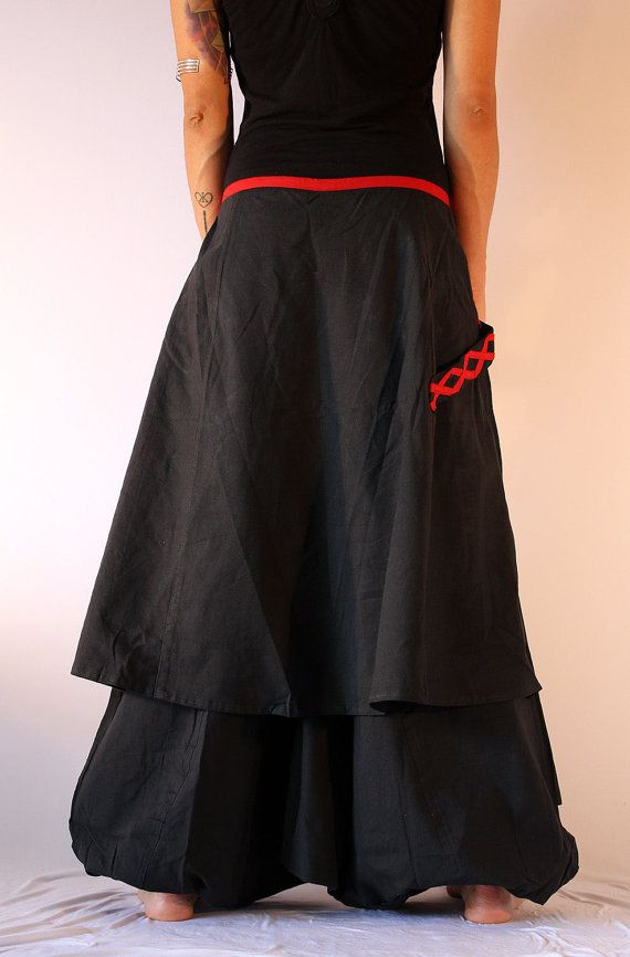 Harem Pants Skirt Aladdin Trousers Afghani Ali by manaKAmana