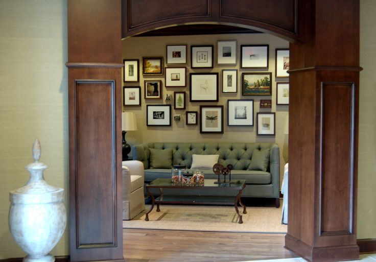 10 best Salon-Style Art Hanging images on Pinterest | Interior ...