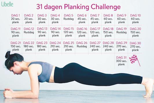 De foto's van een planking challenge zien er veelbelovend uit, maar welk effect heeft zo'n planking challenge nu echt? Onze redactrice Yasmine test het uit!