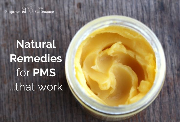5 Natural Remedies for PMS (that actually work)