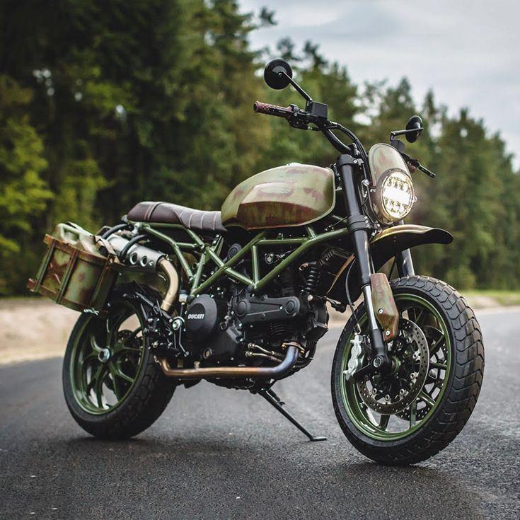 Custom Bikes Of The Week 7 October 2018 Ducati Hypermotard Ducati Monster Custom Ducati