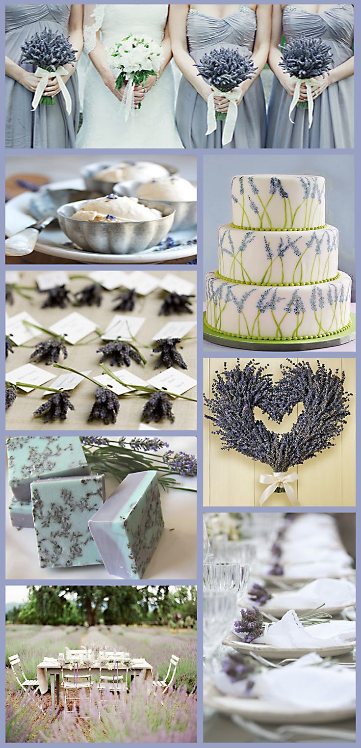 #lavender wedding ... Wedding ideas for brides, grooms, parents & planners ... https://itunes.apple.com/us/app/the-gold-wedding-planner/id498112599?ls=1=8 … plus how to organise an entire wedding ♥ The Gold Wedding Planner iPhone App ♥ http://pinterest.com/groomsandbrides/boards/