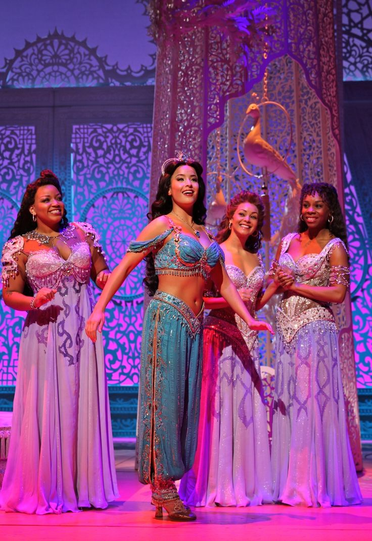 2014 Aladdin On Broadway Costumes | Costumes designed by Gregg Barnes • Broadway • 2014Jasmine and the princesses