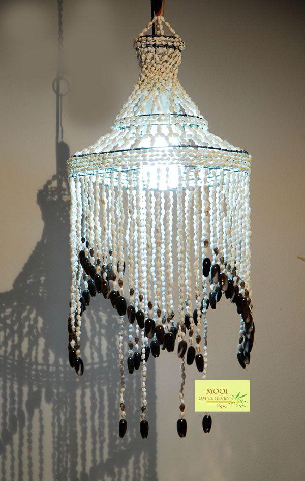 # Bohemian Style shell #chandelier   schelpen  #kroonluchter