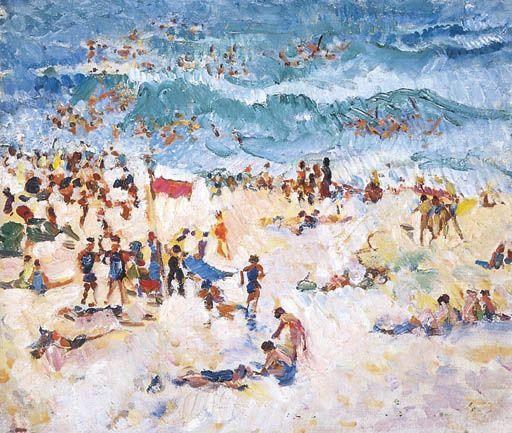 Australian beach scene...