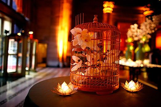 bird cage centerpieces - Google Search
