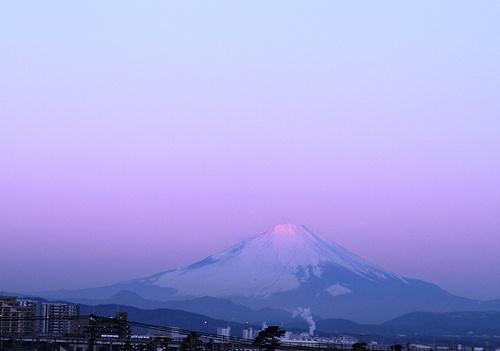 Mt, Fuji Jan 15 2010