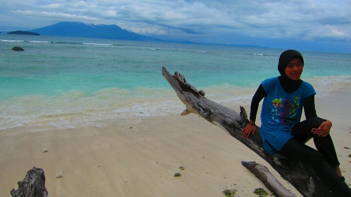 Here, i'm at Umang-umang Island #Indonesia