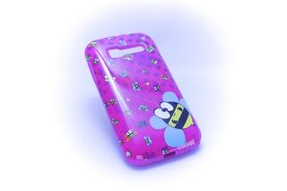 Carcaza con goma protectora Alcatel One Touch C5 Abejas — HighTeck Store