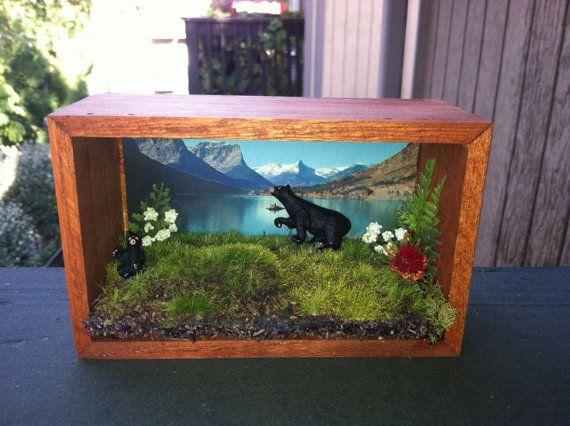 mama-bear-and-baby-bear-habitat-diorama