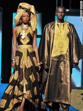 Traditional African Glamour by Beninese designer Dasha Nicoue