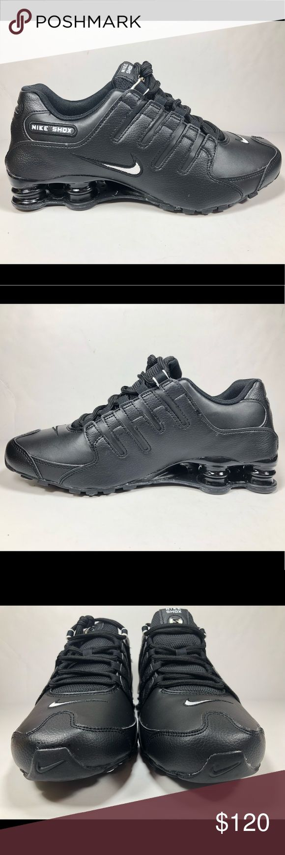 Nike Mens Sz 9 Nike Shox NZ Black Running Shoes Excellent Like New Condition Never Worn New Without Box See Picture For Details. S514 Nike Shoes Sneakers
