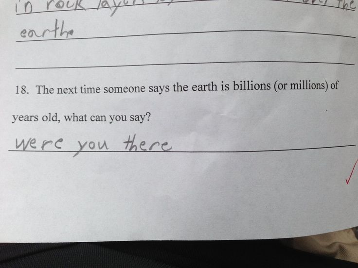 Actual 4th Grade science test in South Carolina