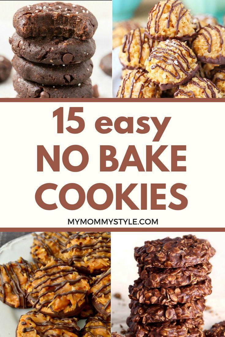 15 Favorite No Bake Cookies