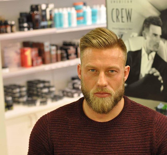 WEBSTA @ aooo.cutzandbladez - Haircut and beard trim ✂✂@stiking1 @a_salong #malegrooming #barbershop #barber #barbering #barbershopconnect #barbergang #barberlove #londonbarber #vikings #norge #minmidtby #beard #bearded #beards #beardgang #beardedmen #skjegg #skjeggmenn #ukbarber #barberlife #kristiansand #ukmasterbarbers #style #photography #beardlife #beardgang #rugged #fade #skinfade #americancrew #shaving@hairstyleformens.official@american_salon