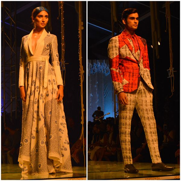 The Grandeur of the Finale highlighted the theme India Modern to perfection!. #AIFW16