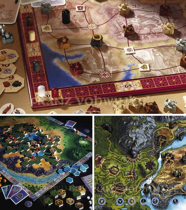 Beautiful board game designs