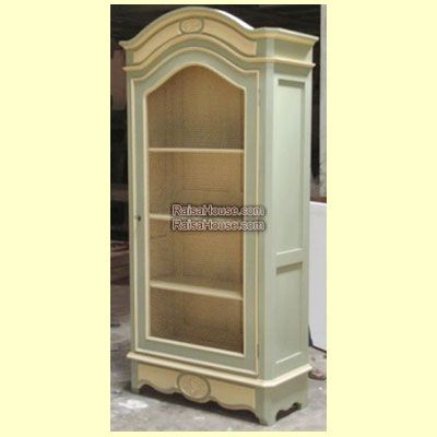French Armoire 1 Door with Grill Refrence : RAR 021 Dimension : 103 x 45 x 220 cm Material : #WoodenMahogany Finishing : #Custom Buy this #Armoire for your #homeluxury, your #hotelproject, your #apartmentproject, your #officeproject or your #cafeproject with #wholesalefurniture price and 100% #exporterfurniture. This #FrenchArmoire1DoorwithGrill has a #highquality of #AntiqueFurniture #MahoganyFurniture #ClassicFurniture #HomeFurniture #CustomFurniture #ReproductionFurniture