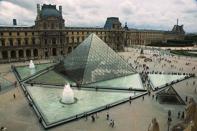 "Been here! Can't wait to go back someday. - ""The Louvre in Paris is one of the world's largest and most visited art museums. Opened in 1793, it is housed in the Louvre Palace. Its exhibits come from such diverse origins as ancient Egypt, classical Greece and Rome, medieval Europe and Napoleonic France."""