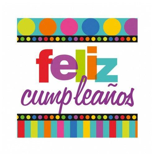 95 best images about feliz cumpleanos on pinterest - Feliz cumpleanos letras ...