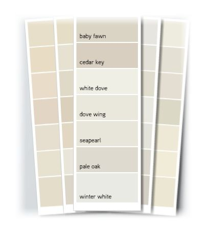 Benjamin Moore Pale Oak Exterior Paint Colors