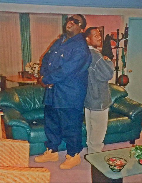 Biggie Smalls x Martin Lawrence