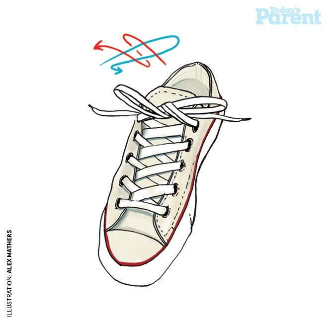 Teach your kids to tie shoelaces - Today's Parent