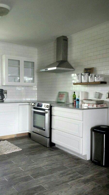 Tile job turned put great. | Kitchen renovation, Kitchen ...
